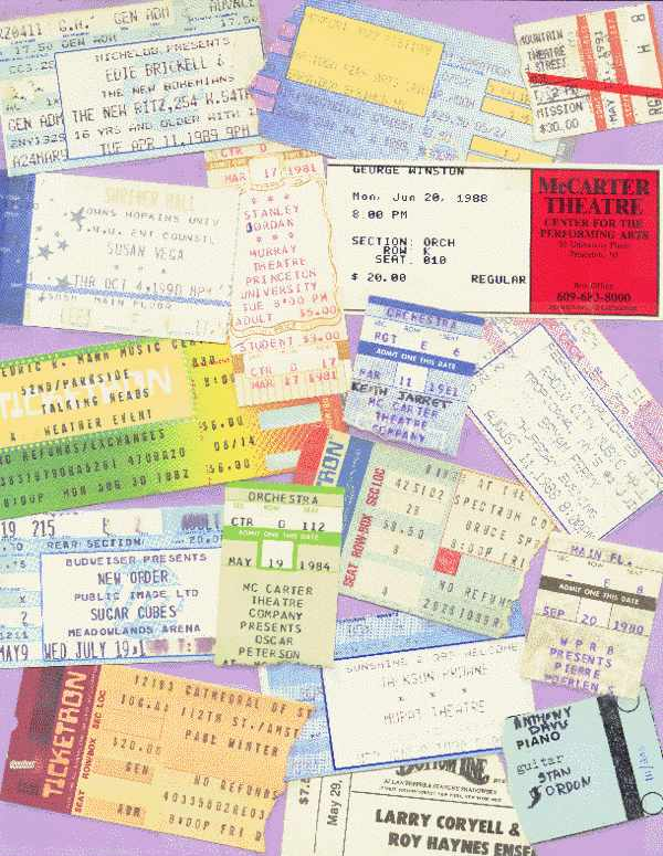 [Tickets Galore #3]